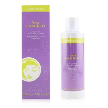 DERMAdoctor Lucky Bamboo Jukyeom 9x Oil To Milk Cleanser
