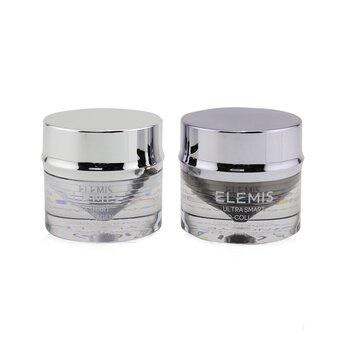 Elemis Ultra Smart Pro-Collagen Day & Night Eye Treatment Duo (1x Morning Eye Balm, 1x Evening Eye Cream, 1x Eye Tool)