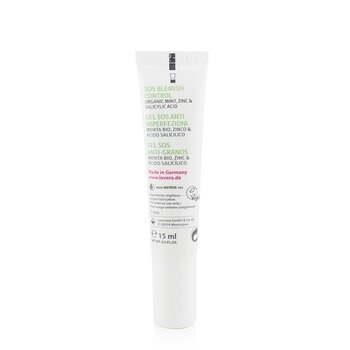 Lavera SOS Blemish Control With Organic Mint, Zinc & Salicylic Acid