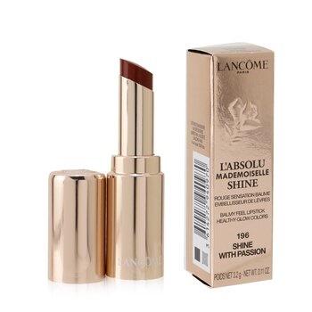 Lancome L'Absolu Mademoiselle Shine Balmy Feel Lipstick - # 196 Shine With Passion
