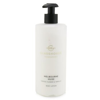 Glasshouse Body Lotion - Melbourne Muse (Coffee Flower & Vanilla)