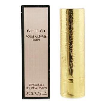 Gucci Rouge A Levres Satin Lip Colour - # 106 Tacey Hazel (Box Slightly Damaged)
