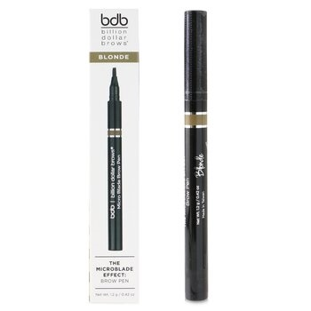 Billion Dollar Brows The Microblade Effect: Brow Pen - # Blonde