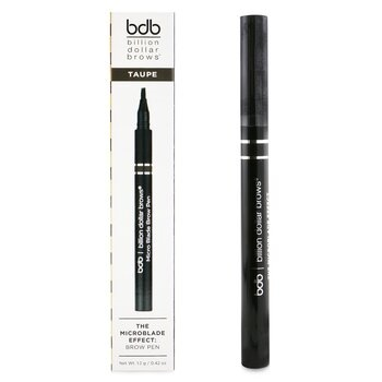 Billion Dollar Brows The Microblade Effect: Brow Pen - # Taupe