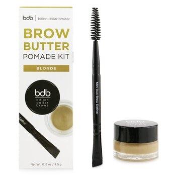 Billion Dollar Brows Brow Butter Pomade Kit: Brow Butter Pomade + Mini Duo Brow Definer - # Blonde