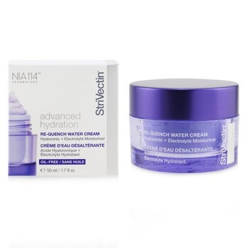 StriVectin StriVectin - Advanced Hydration Re-Quench Water Cream - Hyaluronic + Electrolyte Moisturizer (Oil-Free)