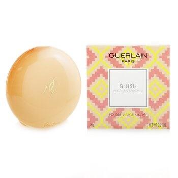 Guerlain Blush Brazilian Shimmer Pearly Face Powder