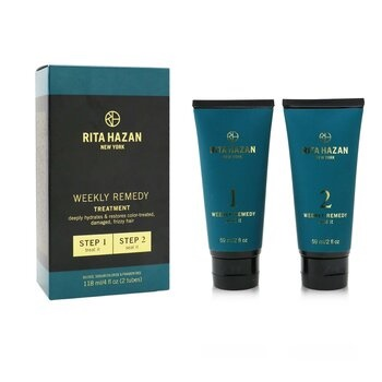 Rita Hazan Weekly Remedy Treatment (Deeply Hydrates & Restores Color-Treated, Damaged, Frizzy Hair)