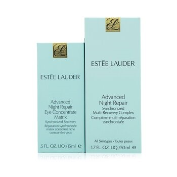 Estee Lauder Advanced Night Repair Set: Synchronized Multi-Recovery Complex 50ml+ Eye Concentrate Matrix 15ml