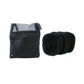 MakeUp Eraser 7 Day Set (7x Mini MakeUp Eraser Cloth + 1x Bag) - #Chic Black