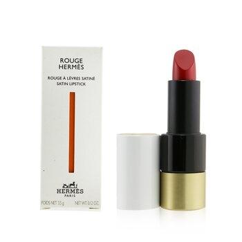 Hermes Rouge Hermes Satin Lipstick - # 64 Rouge Casaque (Satine)