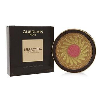 Guerlain Terracotta Hestia Island Bronzing & Blush Powder