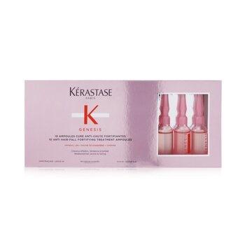Kerastase Genesis 10 Anti Hair-Fall Fortifying Treatment Ampoules (Weakened Hair, Prone To Falling)