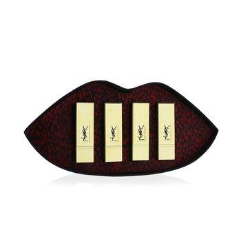 Yves Saint Laurent Mini Rouge Pur Couture Set (4x Mini Lipstick)