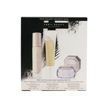 Fenty Beauty by Rihanna Pro Filt'R Hydrating Complexion Kit: Foundation 32ml + Primer 32ml + Instant Retouch Setting Powder 7.8g - #120