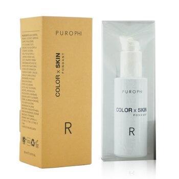 PUROPHI Color x Skin Fondant Foundation - # R (Medium/Dark)
