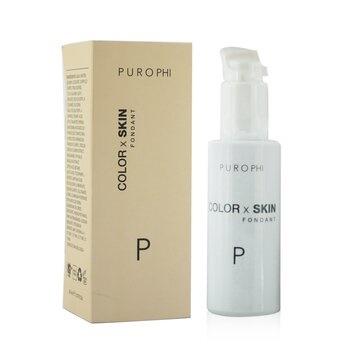 PUROPHI Color x Skin Fondant Foundation - # P (Light)