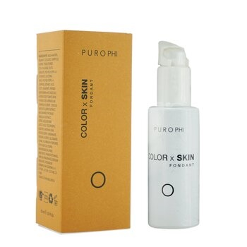 PUROPHI Color x Skin Fondant Foundation - # O (Dark)