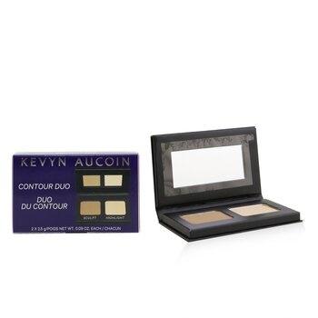 Kevyn Aucoin The Contour & Highlighter Duo (1x Contour, 1x Highlighter)