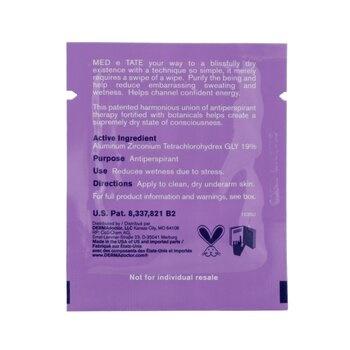DERMAdoctor MED e TATE Antiperspirant Wipes (Box Slightly Damaged)