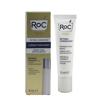 ROC Retinol Correxion Wrinkle Correct Eye Reviving Cream - Advanced Retinol With Hyaluronic Acid