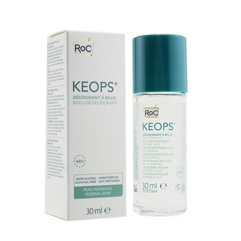 ROC KEOPS Roll-On Deodorant 48H - Alcohol Free & Not Perfumed (Normal Skin)