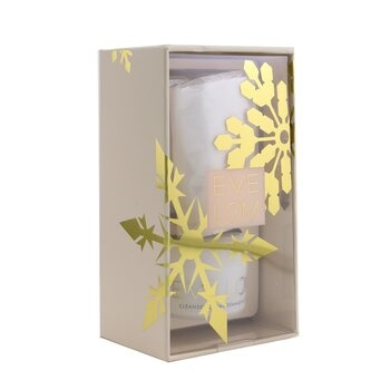 Eve Lom Iconic Cleanse Ornament Travel Set: Cleanser 20ml/0.7oz + Muslin Cloth 1pc