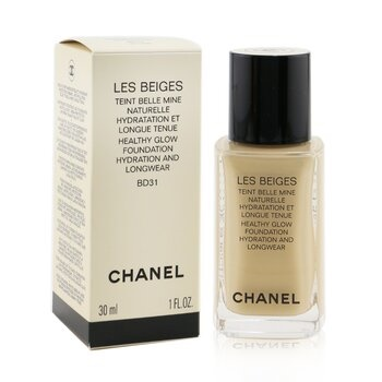 Chanel Les Beiges Teint Belle Mine Naturelle Healthy Glow Hydration And Longwear Foundation - # BD31