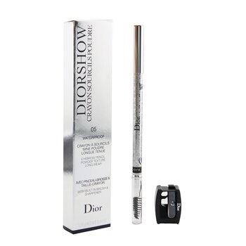 Christian Dior Diorshow Waterproof Crayon Sourcils Poudre - # 05 Black