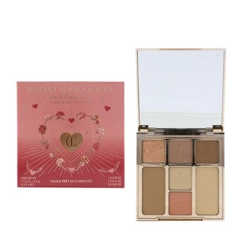 Charlotte Tilbury Instant Look Of Love Look In A Palette (1x Powder, 1x Blush, 1x Highlight, 1x Bronzer, 3x Eye Color) - # Pretty Blushed Beauty