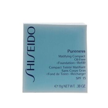 Shiseido Pureness Matifying Compact Oil Free SPF 15 Refill - 10 Light Ivory