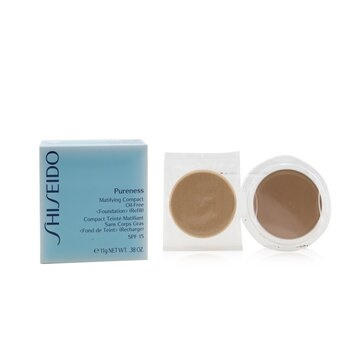 Shiseido Pureness Matifying Compact Oil Free SPF 15 Refill - 20 Light Beige