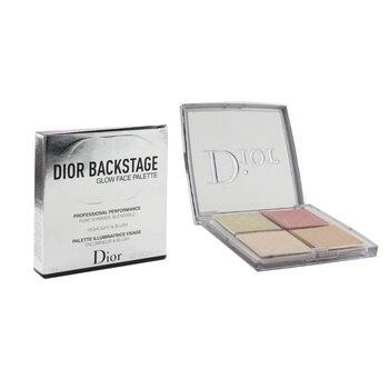 Christian Dior Backstage Glow Face Palette (Highlight & Blush) - # 004 Rose Gold
