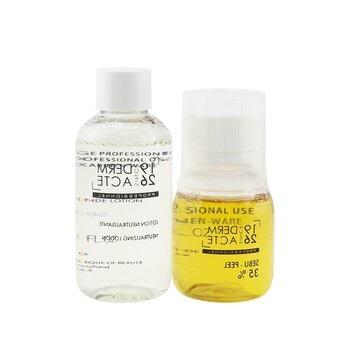 Academie Sebu-Peel 35% Kit : 1x Sebu-Peel 35% 50ml/1.7oz, 1x Neutralizing Lotion 75ml/2.5oz, 1x Measuring Cup (Salon Product)