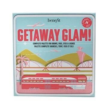 Benefit Getaway Glam Complete Palette (Primer + Bronzer + Brow Gel +Highlighter + Mascara + Eyeshadow + 2x Applicator)