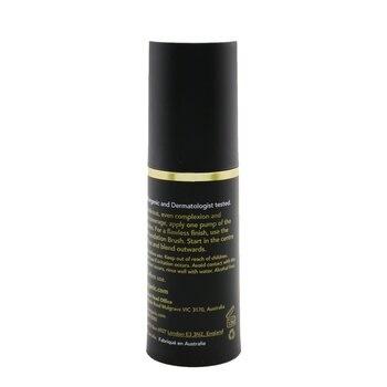 INIKA Organic Certified Organic Liquid Foundation - # Honey