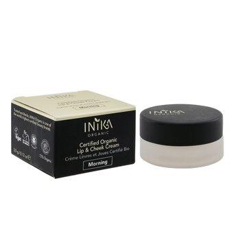 INIKA Organic Certified Organic Lip & Cheek Cream - # Morning