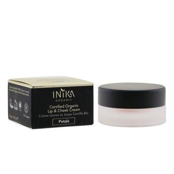 INIKA Organic Certified Organic Lip & Cheek Cream - # Petals