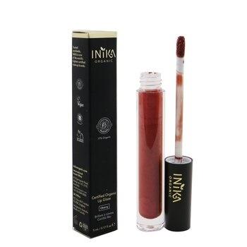 INIKA Organic Certified Organic Lip Glaze - # Cherry