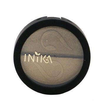INIKA Organic Pressed Mineral Eye Shadow Duo - # Gold Oyster