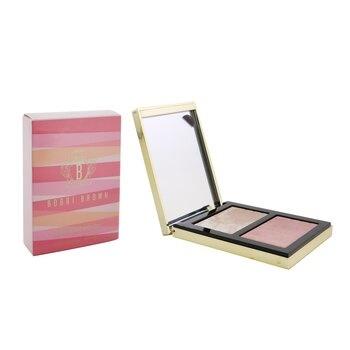 Bobbi Brown Highlighting Powder Duo (Love's Radiance Collection) - # Pink Glow