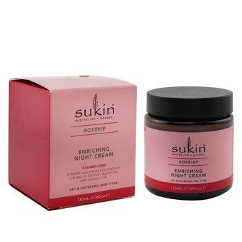 Sukin Rosehip Enriching Night Cream (Dry & Distressed Skin Types)