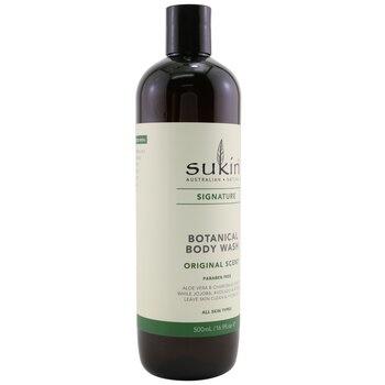 Sukin Signature Botanical Body Wash - Original Scent (All Skin Types)