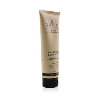 Sukin Energising Body Scrub - Coconut & Coffee (All Skin Types)