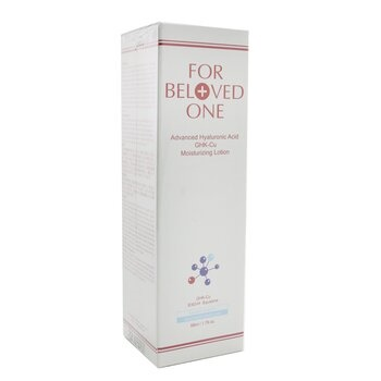 For Beloved One Advanced Hyaluronic Acid - Ghk-Cu Moisturizing Lotion