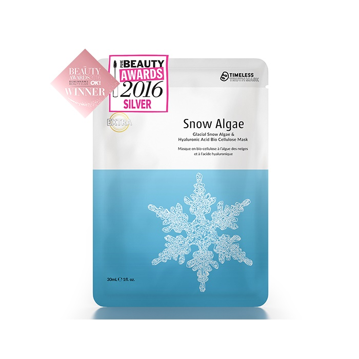 Timeless Truth Glacial Snow Algae & Hyaluronic Acid Bio Cellulose Mask (3 Masks)