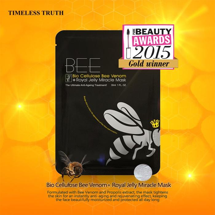 Timeless Truth TT Bee Venom Miracle Facial Sheet Mask (Single Mask)