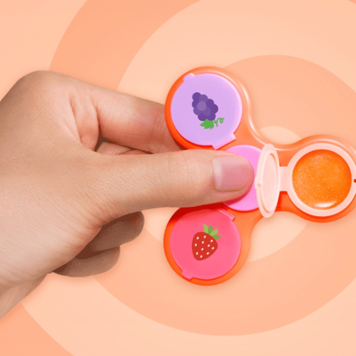 Taste Beauty Glamspin Flavoured Lip Glosses & Fidget Spinner [DOUBLE PACK]